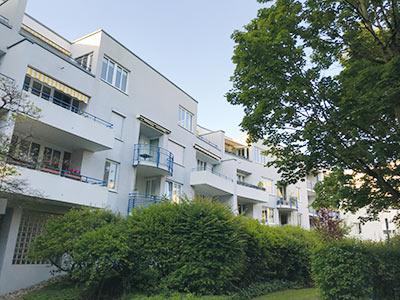 Helle, gepflegte 3- Zimmerwohnung mit kleiner Süd-Dachterrasse